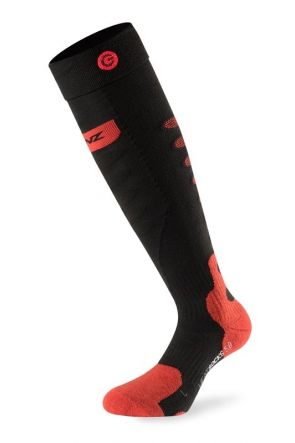 Lenz Heated Socks 5.0 Spare Pair Socks Black Red