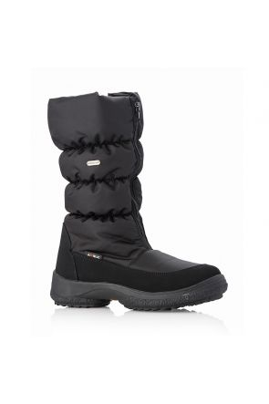 Attiba Cortina Zip Front Women's Après Snow Boot Black
