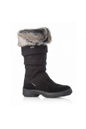 Attiba Torino Fur Cuff Women's Après Snow Boot Black