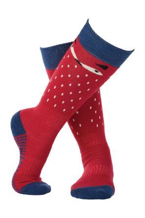 Rojo Anamalia Girls Ski Socks Virtual Pink