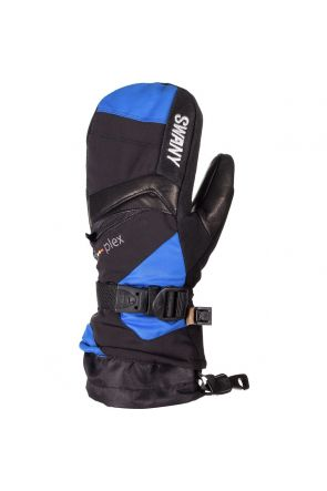 Swany X-Change Kids Ski Mitten Black Royal