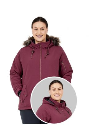 BOULDER GEAR WOMEN'S HALO JACKET ROSEWOOD Sizes 2XL-4XL