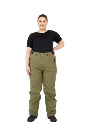 Cartel Arctic Womens Plus Size Snow Army Green Black 3XL-7XL