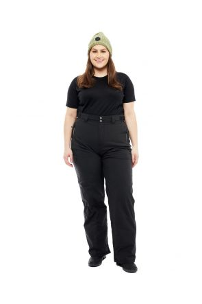 Cartel Arctic Womens Plus Size Snow Pant Black 2XL-9XL