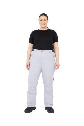 Cartel Canada Womens Plus Size Ski Pants Grey Sizes 18-30