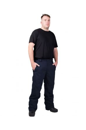 Cartel Kicker Mens Plus Size Ski Pants Navy Front Side