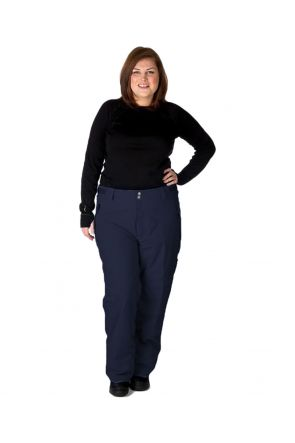 CARTEL KICKER UNISEX WOMENS PLUS SIZE SKI PANTS NAVY SIZES 3XL-6XL