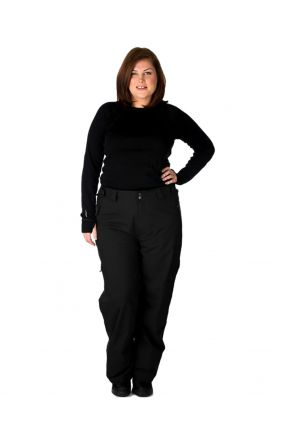 CARTEL KICKER WOMENS UNISEX PLUS SIZE SKI PANTS SL BLACK XL - 9XL