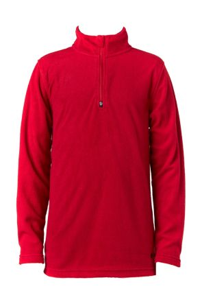 Elude Boys 1/4 Zip Microfleece Biking Red 2019