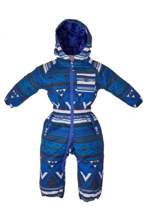 Elude Boys Snow Suit (0-3 years) Mountain Aztec Soladite Blue 2019