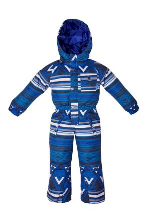 Elude Boys Snow Suit (4-8 years) Mountain Aztec Soladite Blue 2019