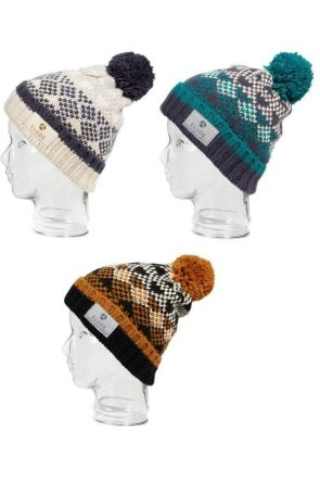 Elude Mens Shallow Snow Beanie 2019 All Colours