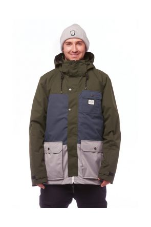Elude Quinn Mens Snow Jacket Kombu Green 2019  Front