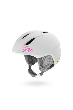 GIRO Launch MIPS Kids Unisex Ski Helmet Matte White Profile