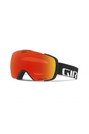 Giro Contact Vivid Ember Mens Ski Goggle Black Wordmark 2018