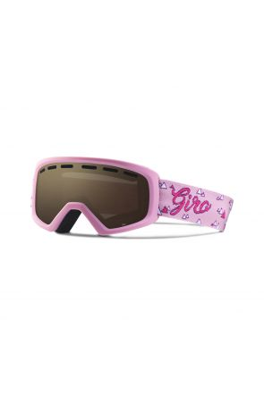 Giro Rev Amber Rose Kids Ski Goggle Pink Magic Mountains 2018