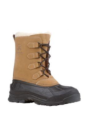 Kamik Alborg Womens Apres Snow Boots Tan 2020 front