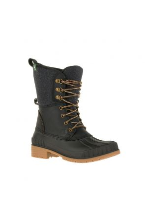 Kamik Sienna2 Womens Apres Snow Boot Black 2020 Front