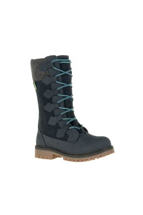 Kamik Takoda Kids Apres Snow Boots Ink Blue 2020 front main