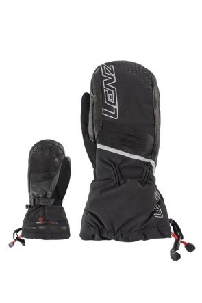 Lenz Heated 4.0 Unisex Snow Mittens Black 2019