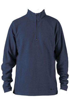 Elude Mens 1/4 Zip Microfleece Blue Nights 2019
