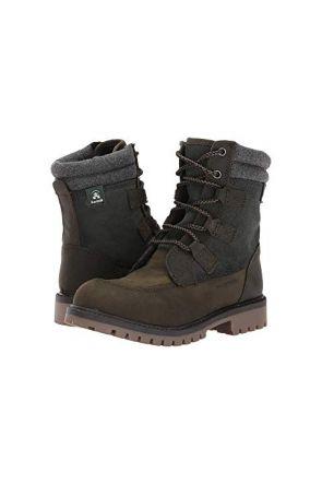 Kamik Takoda Lo Kids Apres Snow Boots Olive 2020