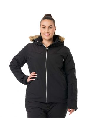 RAISKI AVELINE R+ WOMENS PLUS SIZE SNOW JACKET BLACK SIZES 16 & 22
