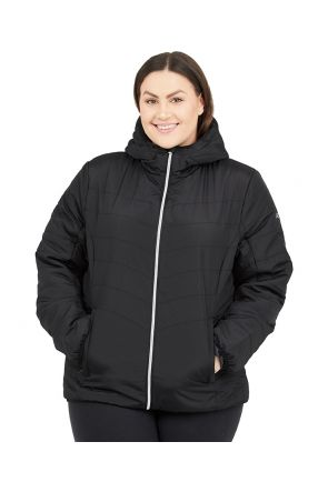 Raiski Kodaira R+ Womens Plus Size Jacket Black Sizes 20-28 Front