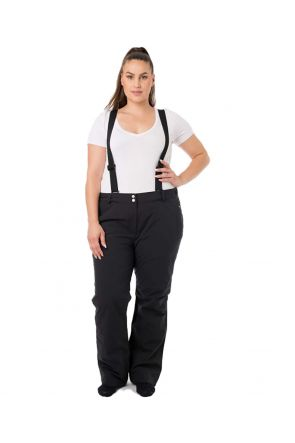 RAISKI SAVONA R+ WOMENS PLUS SIZE SKI PANTS BLACK SIZES 14-28