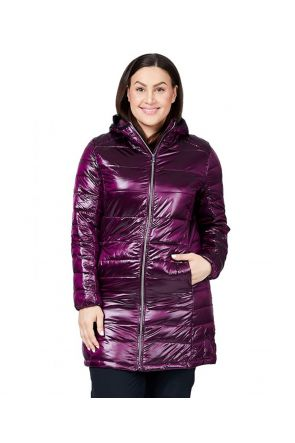 RAISKI SWAN R+ WOMENS PLUS SIZE SNOW JACKET PURPLE SIZES 18-20