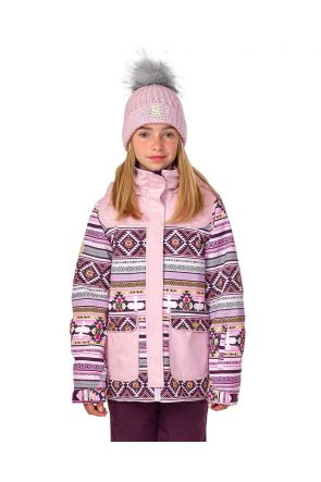 Rojo Elin Girls Snow Jacket Winsome Orchid Front