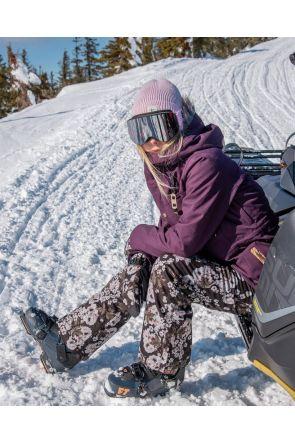 Rojo Snow Culture Womens Ski Pant Floral True Black Main