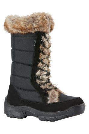 Rojo Snow Fox Boot Womens Apres Snow Boot True Black