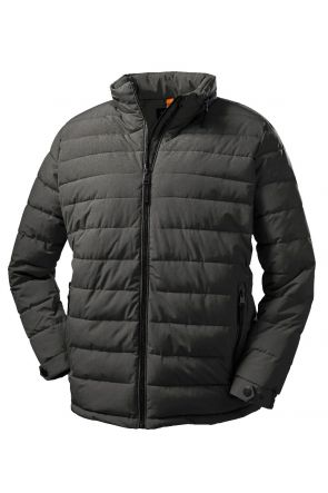 Stoy Friedrich Mens Plus Size Puffer Jacket Anthracite Sizes 3XL-6XL Front