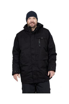Stoy Kurt Mens Plus Size Ski Jacket Black Sizes 3XL-6XL Main