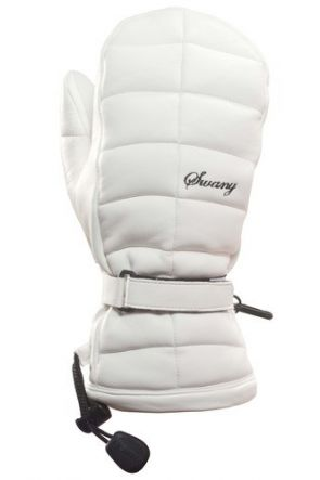 Swany LaCozy Womens Leather Ski Mitten