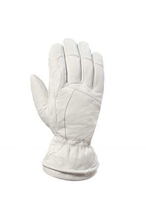 Swany LaPosh Womens Leather Ski Glove White
