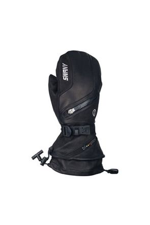 Swany X-Cell II Mens Leather Ski Mitten Black
