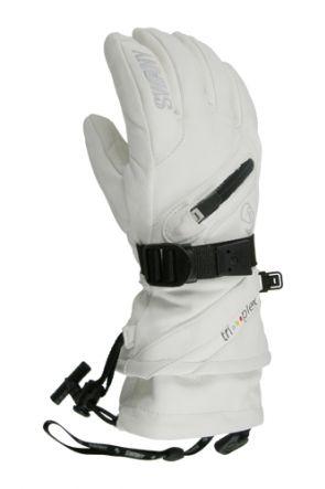 Swany X-Cell II Womens Leather Ski Glove White