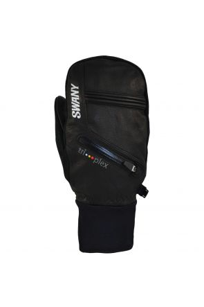 Swany X- Cell Mens Leather Ski Under Mitten Black