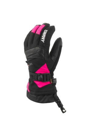 Swany X-Change Kids Ski Glove Black Magenta