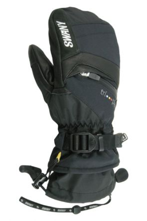 Swany X-Change Kids Ski Mitten Black