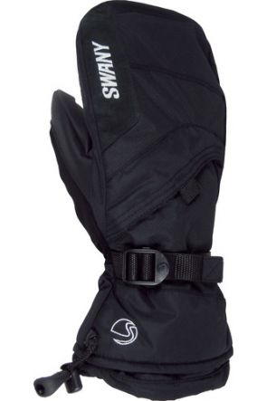 Swany X-Over Kids Ski Mitten Black