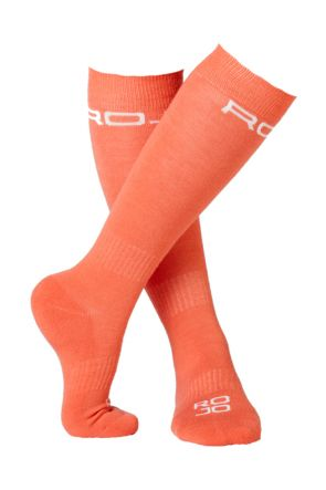 Rojo Thin Lizzy Womens Sock Living Coral