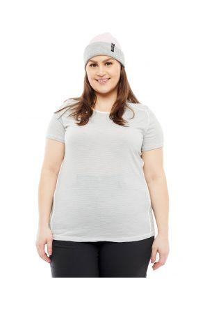 Wilderness Wear Womens Plus Size Cumulo 150 Merino Wool T-Shirt