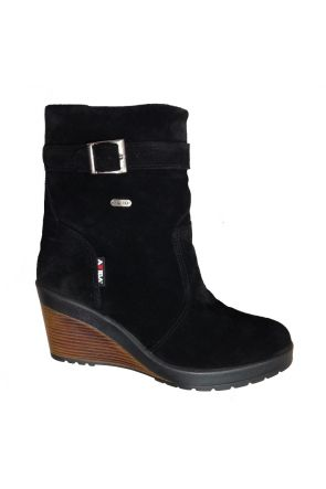Attiba Verona Women's Après Snow Boot Black Side