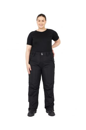XTM ARGENTINA UNISEX PLUS SIZE SKI PANT BLACK SIZES SIZES XL - 7XL