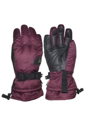 XTM Aspen II Kids Ski Gloves Burgundy (6-14 years) 2019 pair