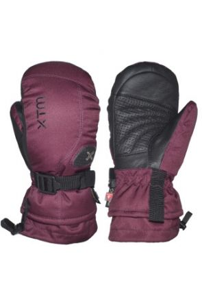 XTM Aspen II Kids Ski Mitten Burgundy (6-14 years) 2019 pair