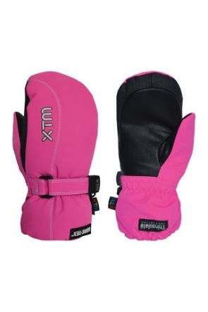 XTM Buttermilk Kids Snow Mitten Hot Pink (4-10 years) 2019  Pair